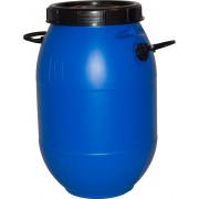 Бочка пластиковая 50 литров 590*380*253 винтовая крышка,вкладыш